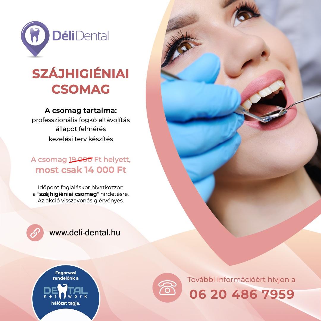 Déli Dental Fogászat - akció
