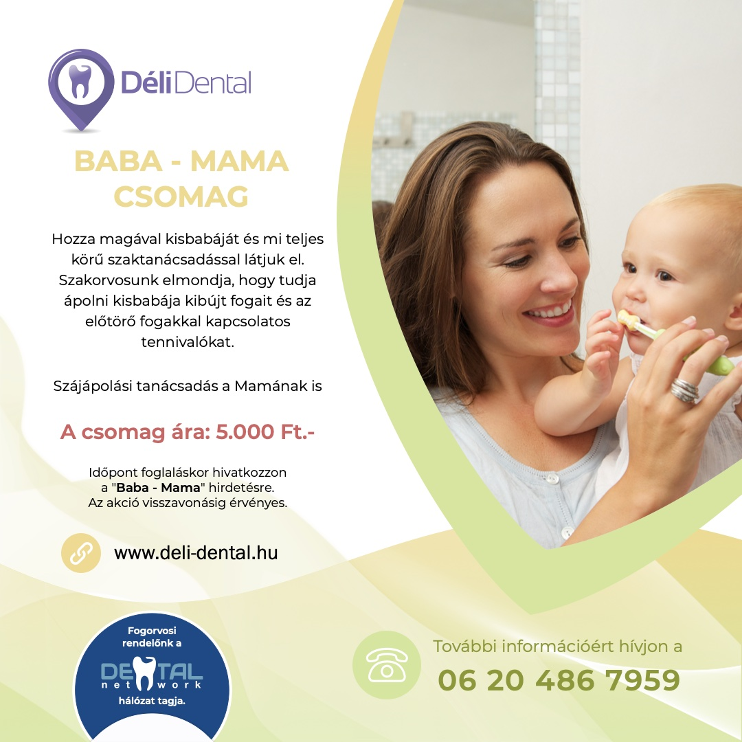 Déli Dental Baba - Mama Csomag