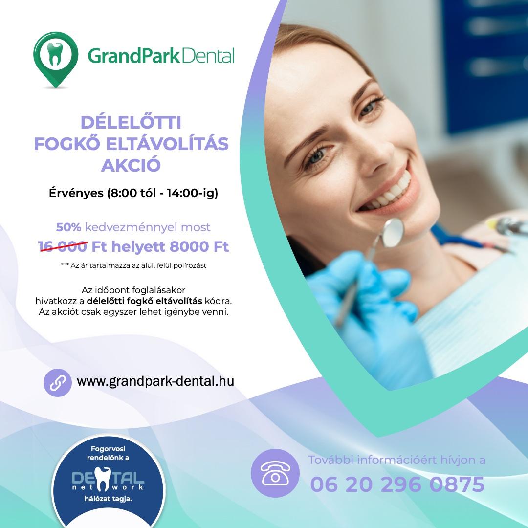 Grand Park Dental Fogászat - Akció