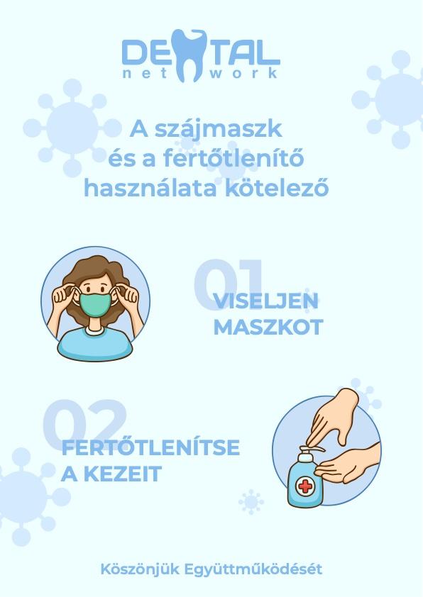 Dental Network - Fontos felhívás pácienseink részére!