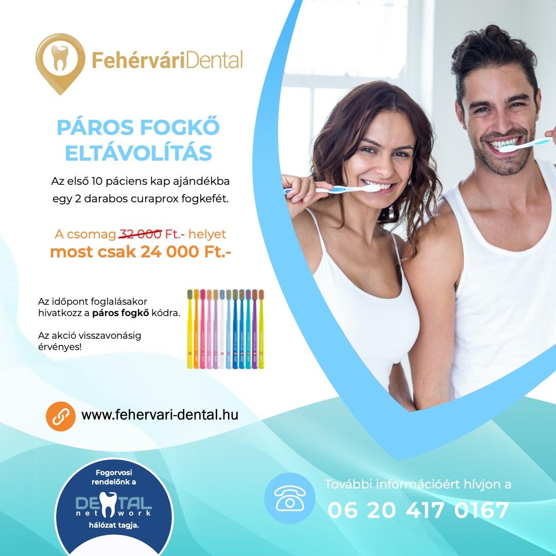 Fehérvári Dental Fogászat akció